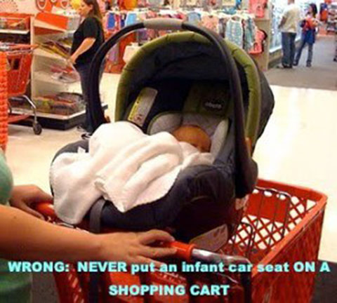 6 Top Reasons Car Seat On The Shopping Cart Is A Bad Idea 2 Is
