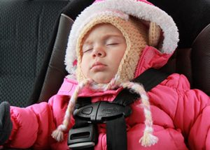 Car Seat And Puffy Winter Jacket IS A Dangerous Combination