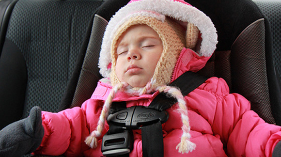 Car Seat And Puffy Winter Jacket IS A Dangerous Combination | Oh My