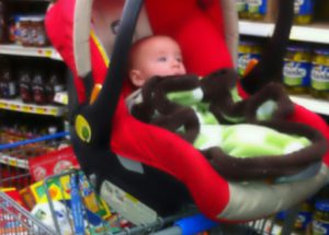 Car Seat on Shopping Cart: 6 Foolish Reasons Parents Still Do This. #1 Is Unbelievable