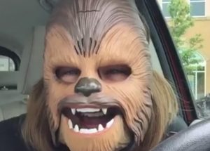 Mom Wears Chewbacca Mask … You Just Have To See What Happens Next