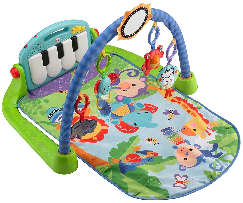 Fisher-Price-Kick-&-Play-Piano-Gym,-Blue-Green