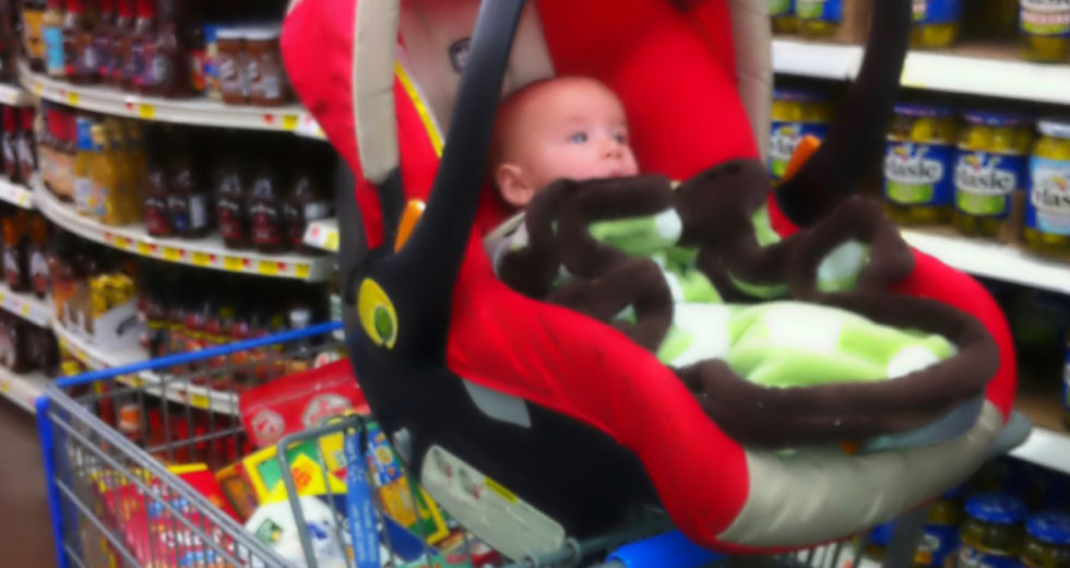 "6 Top Reasons ""Car Seat On The Shopping Cart"" Is A BAD Idea. #2 Is Heartbreaking"